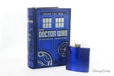 Your place to buy and sell all things handmade Book Safe, Accessories Display, Police Box, Tardis, Laser Engraving, Doctor Who, Flask, The Originals, Books
