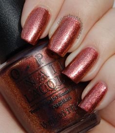 Sprung #MariahCareybyOPI / reminds me of OPI Cayenne Pepper with glitter <3