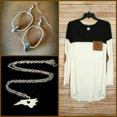 www.spruceandpinejewelry.com  NC necklace