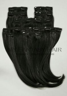 #1 Jet Black Myfantasyhair.com  #hairextensions #myfantasyhair #longhair #hairofinstagram #hairoftheday #extensions #fashion #accessories #gorgeous #prettyhair #hairstyles #humanhair #clipin #hair #mfhextensions #myfantasyhairextensions #gorgeous #longextensions #shopping #online #store #clips #hairfashion #blackhair