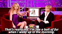 Taylor on Ellen (2/10)