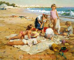 Картины Юрия Кротова
