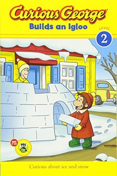 """Read """"Curious George Builds an Igloo (CGTV reader)"""" by H. Rey available from Rakuten Kobo. In this snowy adventure based on the Emmy–Award winning PBS TV show, Curious George can't wait to help his friend Bill b. Letter I Activities, Preschool Letters, Preschool Books, Craft Activities, Preschool Winter, Preschool Science, Snow Theme, Winter Theme, Winter Fun"""