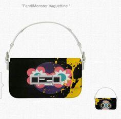 7a2205799ecb  Fendi  Monster  Baguette
