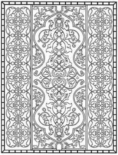 coloring page Tiles Kids-n-Fun