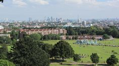 Hampstead Heath, London.  One of the best green spaces in the city and a high point with great views to the city of London