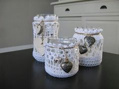 Sfeerlichtjes, tealight, haken, crochet