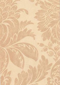 Pina Wallpaper Beige damask style wallpaper