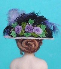 how to: Victorian hat tutorial