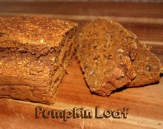 Gluten free folks love pumpkin and fall, too. Don't feel left out! Check out this recipe for a Pumpkin Loaf. Gluten Free Desserts, Gluten Free Recipes, My Recipes, Protein Recipes, Protein Snacks, Amazing Recipes, Holiday Recipes, Recipies, Favorite Recipes