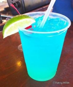 Tropical Depression Mixed Drink 2 oz Vodka, 2 oz Gin, 2 oz Rum, 1 oz Blue Curacao, 1 splash Grenadine, 1 splash Lime Juice, 4-5 oz Sprite or 7up. Pour vodka gin, rum, splash of grenadine, splash of blue curacao and splash of lime juice into a hurricane or highball glass with ice. Last pour sprite or 7up. Stir before drinking. by lynda
