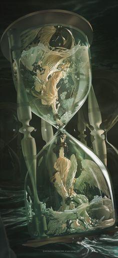 Dark Fantasy Art, Fantasy Kunst, Fantasy Artwork, Dark Art, Digital Art Fantasy, Anime Art Fantasy, Fantasy Images, Fantasy Rpg, Art Inspo