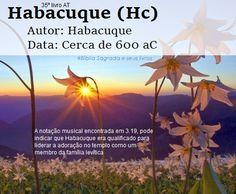 Bíblia Sagrada e seus livros: HABACUQUE - Autor e Data (Hc)
