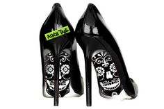 Pegatinas calzado Sugarskull sugarskull talones zapatos