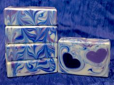 Four Embed Soap Batches for Valentine's Day – Soaps by Sly Soap Recipes, Goat Milk, Handmade Soaps, Bar Soap, Soap Making, Valentines Day, Essential Oils, Decorative Boxes, Mugs