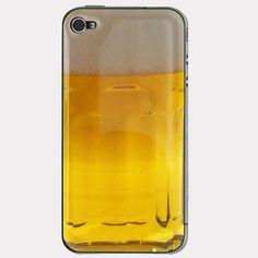 Celkom fajn obal ... iPhone Beer Skin