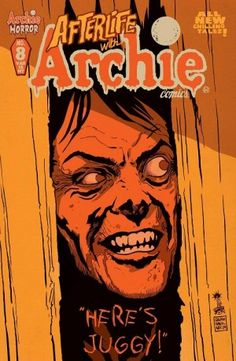 "Have this one pre ordered. Francavilla is amazing. Afterlife With Archie Variant Cover Art by Francesco Francavilla ""HERE'S JUGGY! Free Comic Books, Comic Book Covers, Afterlife With Archie, Archie And Betty, Ghost Of Christmas Past, Riverdale Archie, Betty And Veronica, What Book, Horror Comics"