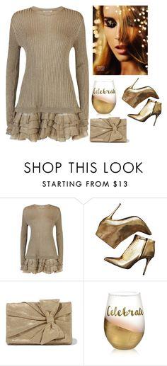 """""""Untitled #2587"""" by carlene-lindsay ❤ liked on Polyvore featuring Valentino, Alexander McQueen and RED Valentino"""