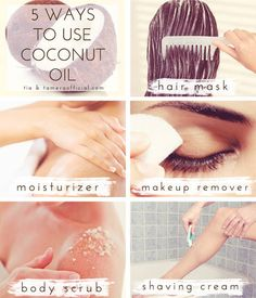 5 Ways to Use Coconut Oil in Your Beauty Routine