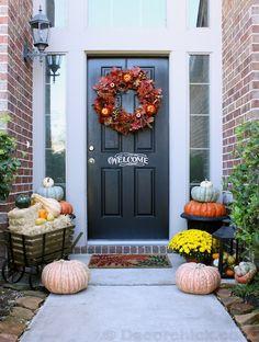 Our Fall Front Porch! - Decorchick.com