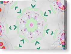 02781 Canvas Print featuring the digital art 02781 by Aileen Griffin