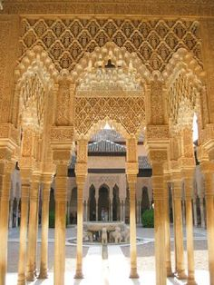 Alhambra Palace, Granada. This palace is a fantastic overload for the senses. I want to visit it again with my family.