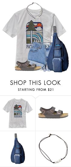 """""Its America but South.""- Ellie from Up"" by flroasburn on Polyvore featuring Patagonia, Levi's, Birkenstock and Kavu"