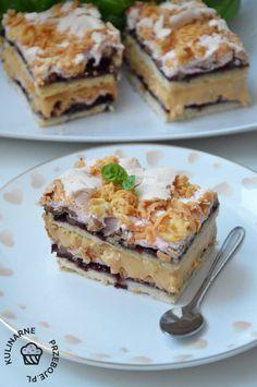 Share this. Cake Recipes, Dessert Recipes, Desserts, Good Food, Yummy Food, Cheesecake, Polish Recipes, Dessert Drinks, Quiche