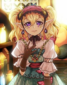 Legend of Zelda: Twilight Princess, Agitha. I actually liked her because of her Lolita fashion...