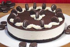 57 New ideas cheese cake senza cottura recipe Oreo Brownies, Oreo Cake, Oreos, Sweet Recipes, Cake Recipes, Cheese Recipes, Cheese Cake Filling, Blackberry Cake, Christmas Cheesecake