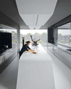 we love this sculpture-house-kitchen, hope you do too