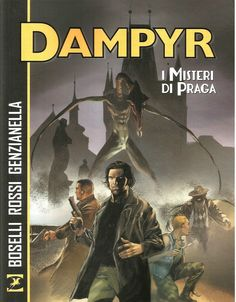 DAMPYR - I MISTERI DI PRAGA ED. SERGIO BONELLI