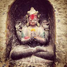 Daily offerings. #himalayanjourney #nepal #wanderlust #buddhism