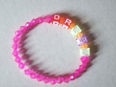 Dream Beaded Bracelet. $7.00, via Etsy.