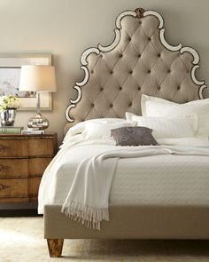 Shop Bristol Bedroom Furniture from Hooker Furniture at Horchow, where you'll find new lower shipping on hundreds of home furnishings and gifts. Hooker Furniture, Bedroom Furniture, Bedroom Decor, Bedroom Rustic, Bedroom Ideas, Design Bedroom, Mirrored Furniture, Bed Design, Bristol