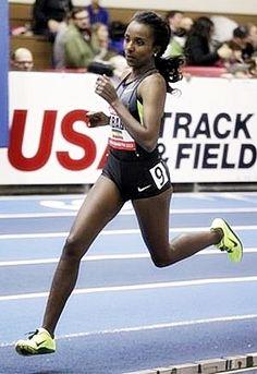 Tirunesh Dibaba Running Style; Ethiopia
