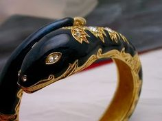 Bracelete Serpente Vintage Anos 80