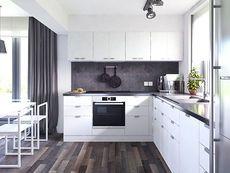 DOM.PL™ - Projekt domu MT Ariel 4 CE - DOM MS3-11 - gotowy koszt budowy Village House Design, Village Houses, Interior S, Interior Design, Better Homes, House Plans, Ariel, Sweet Home, Kitchen Cabinets