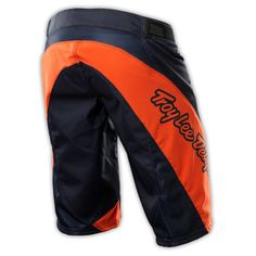 Photo of Sprint Youth Short Solid Navy/Orange