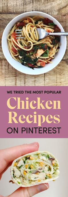 These Are The Most Popular Chicken Recipes On Pinterest