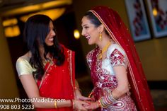 Bridesmaid and Bride's Candid Photo in Gujarati Wedding in Hilton, Stamford, CT Abhishek Decorators, Chand Palace and Maxx Entertainment, Zeeshan Shamji and Poonam Khanna from RSVP Events. Featured in Maharani Weddings. Connecticut Wedding Photographer PhotosMadeEz. Best Wedding Photographer PhtoosMadeEz