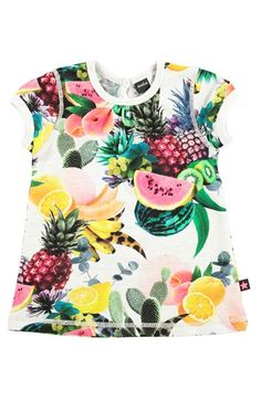 molo 'Cathleen' Fruit Print Dress (Baby Girls) available at #Nordstrom