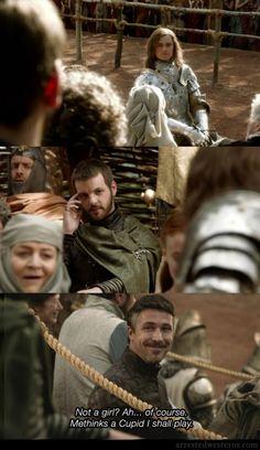 littlefinger's face.  it's the best.