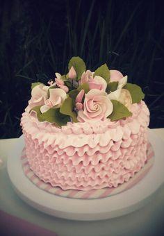 Ruflle cake