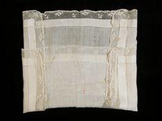 Handkerchief  Handkerchief  1800  lace, lawn