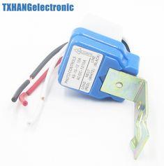 AS-10 Auto On Off reet Light Switch Photo Control Sensor DC AC 12V 10A 50-60Hz
