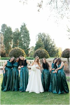 Jade bridesmaids