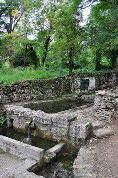 Frankrike - Bois de la Meilleraye - Lavoir de Trousse Chemise II