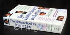 The Homeschooler's Book of Lists is like an amazing almanac specifically for homeschoolers. Here is a small sampling of what the book covers.