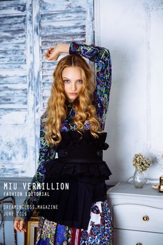 [Fashion Editorial] Dreamerie – Miu Vermillion